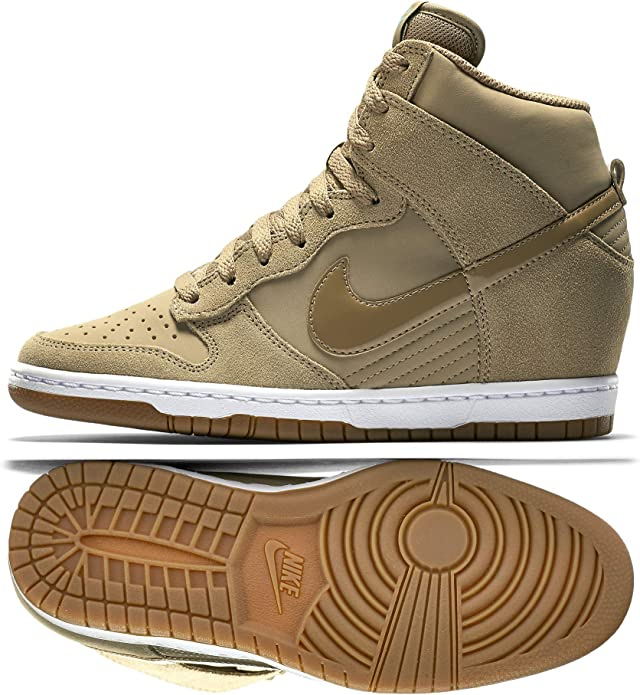 Nike Dunk Sky Hi Essential, Baskets Mode Femme